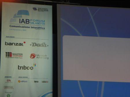 Iab Forum 2009 Milano: parlano le grandi aziende