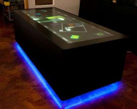 Ideum wide-table Multitouch