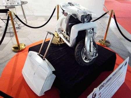 Scooter pieghevole elettrico XO2