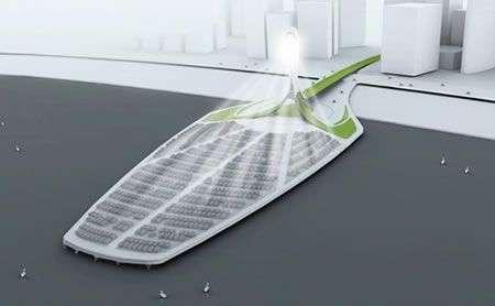 Solasis Light Tower: i vetri delle auto per l'energia