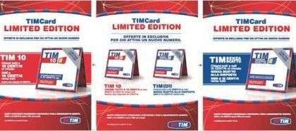 TIM Card Limited Edition: due offerte esclusive