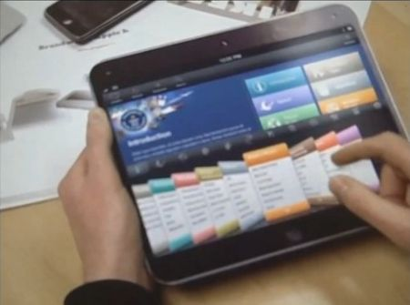 apple tablet concept