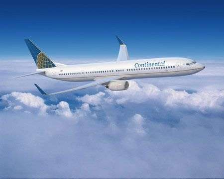 Continental Airlines: Gogo Internet in volo