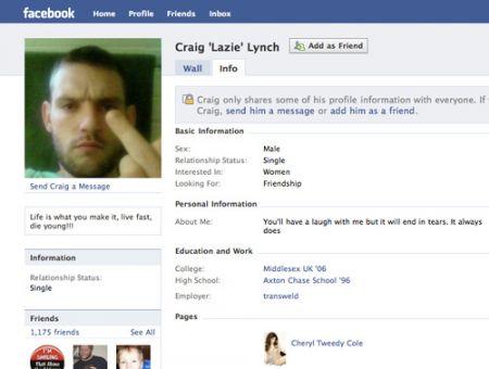 Craig Lynch sfotte la polizia su Facebook