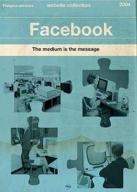Poster-Libri retrò sui siti moderni
