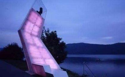 Arte ecologica sul lago di Millstaetter in Austria