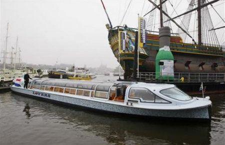 Amsterdam accoglie i barconi solari Nemo H2