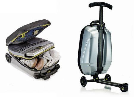 Trolley Scooter: valigia filante