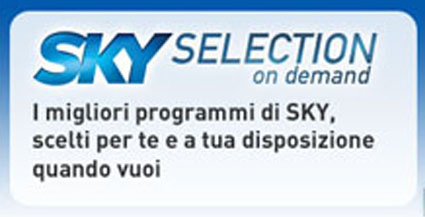 Sky Selection: servizio on Demand