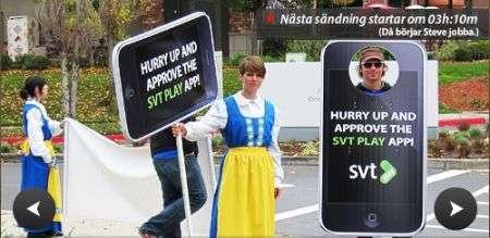 Gli svedesi occupano Cupertino