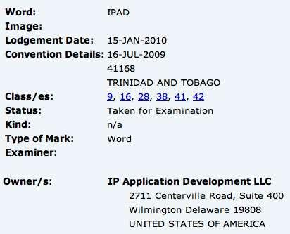 Apple Tablet: e se si chiamasse iPAD?