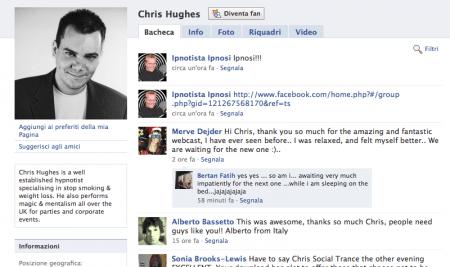 Chris Hughes e il suo bizzarro esperimento