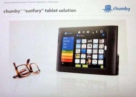 Chumby Sunfury Tablet