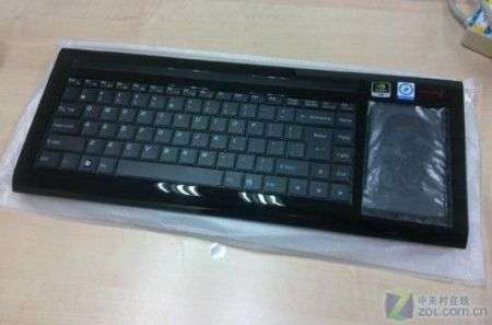Cross PC U510 clone di Eee Keyboard