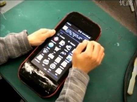 Smartphone Dell creato da un Mini 10