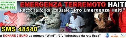 Haiti: SMS Croce Rossa anche da Infostrada