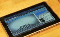 HP Microsoft Slate: video del tablet