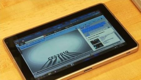 HP Microsoft Slate: video del tablet