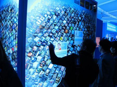 Intel: doppio schermo HD gigante multitouch