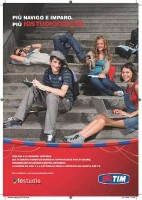 Io Studio con TIM: Internet e chiamate a portata di studente