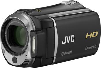 Videocamera JVC GZ-HM550 con Bluetooth