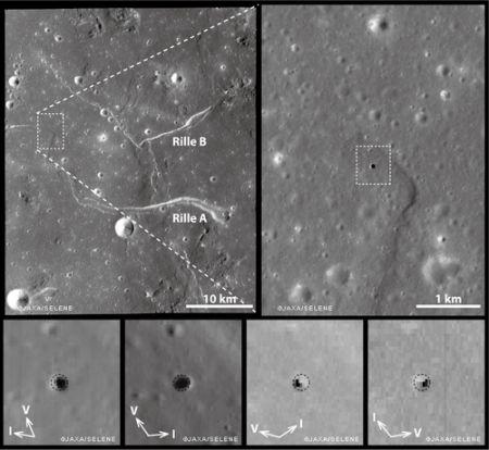 Luna: il buco misterioso è causato dalla lava?
