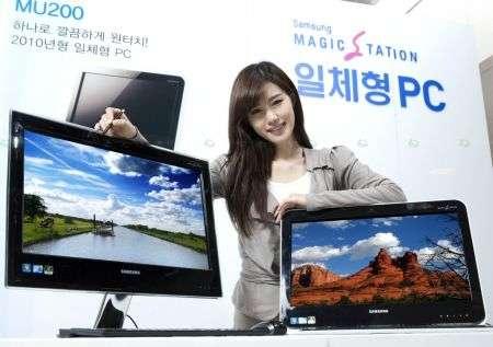 Samsung MU100, MU200 e MU250 all-in-one PC
