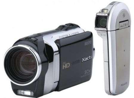 Videocamere Sanyo XACTI VPC SH1 e CS1