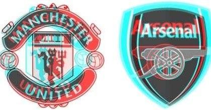 Arsenal – Manchester United: prima partita di calcio in 3D