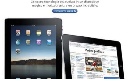 Apple iPad: prezzo italiano con 1€=1$?