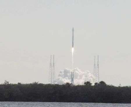 NASA Atlas V sonic boom catturato in video