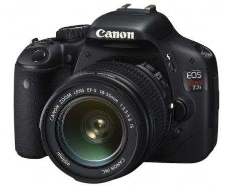 Canon Rebel T2i DSLR