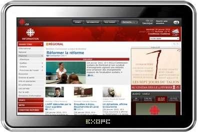 ExoPC Slate tablet con Windows 7