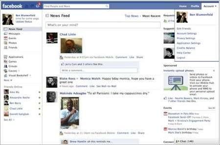 Facebook cambia la homepage