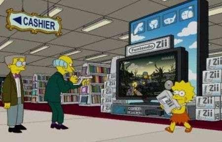 Simpson giocano con la Funtendo Zii