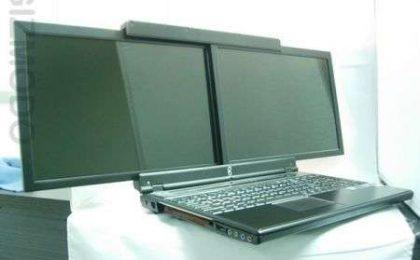 Portatile gScreen SpaceBook doppio schermo 17 pollici