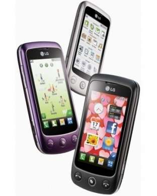 LG Mini GD880, Cookie Plus GS500 e GT350