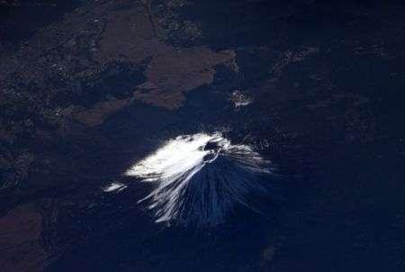 Twitter: foto dallo spazio