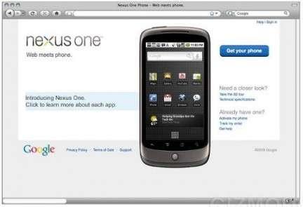 Nexus One in Italia a un prezzo di 699 euro?