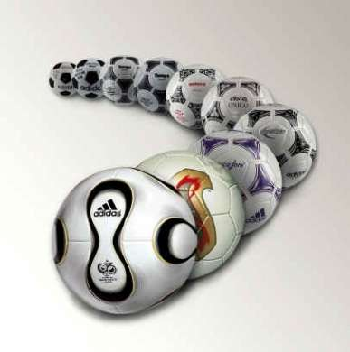 Pallone che genera energia a ogni calcio