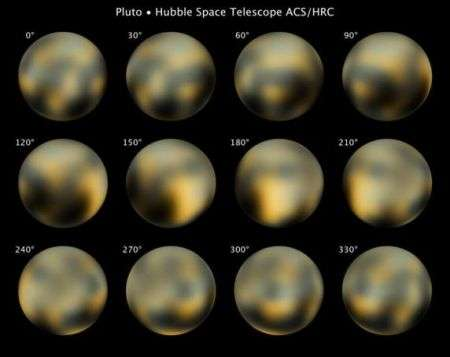 Plutone: le foto di Hubble ne rivelano la natura cangiante