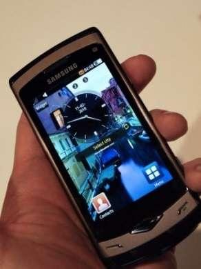 Samsung Wave S8500 Bada: lo schermo AMOLED al sole