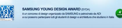 Samsung Young Design Award: 4a edizione al via