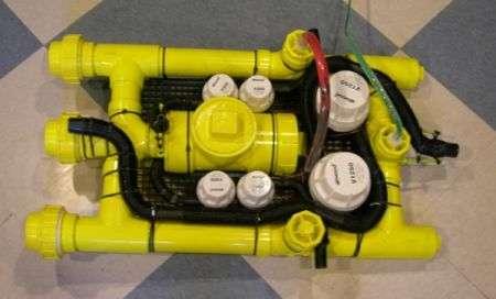 Sottomarino fai da te in PVC