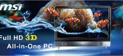 MSI All-in-one PC con 3D HD al CeBIT 2010
