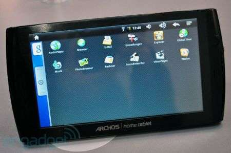 Archos 7 Home Tablet al CeBIT 2010