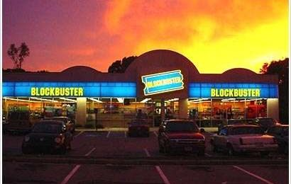 BlockBuster: Internet la manda al fallimento