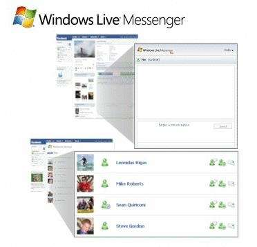 Chat Facebook su Windows Live Messenger (ex MSN)