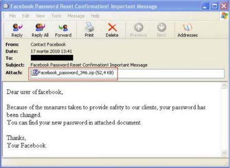 Facebook Virus Password: come evitarlo