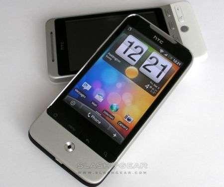 HTC Legend in video